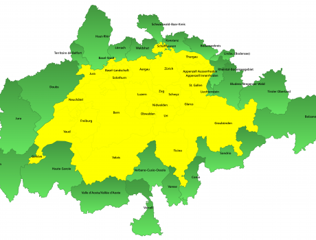 Angrenzende ausländische Regionen